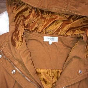 Charlotte Russe Jackets & Coats - BROWN JACKET💓